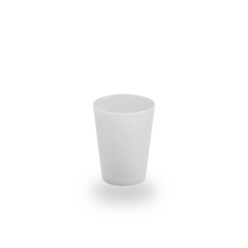 Vaso de plástico de café gris